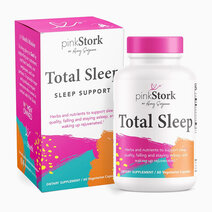 Total Sleep Supplement (60 Capsules) by Pink Stork