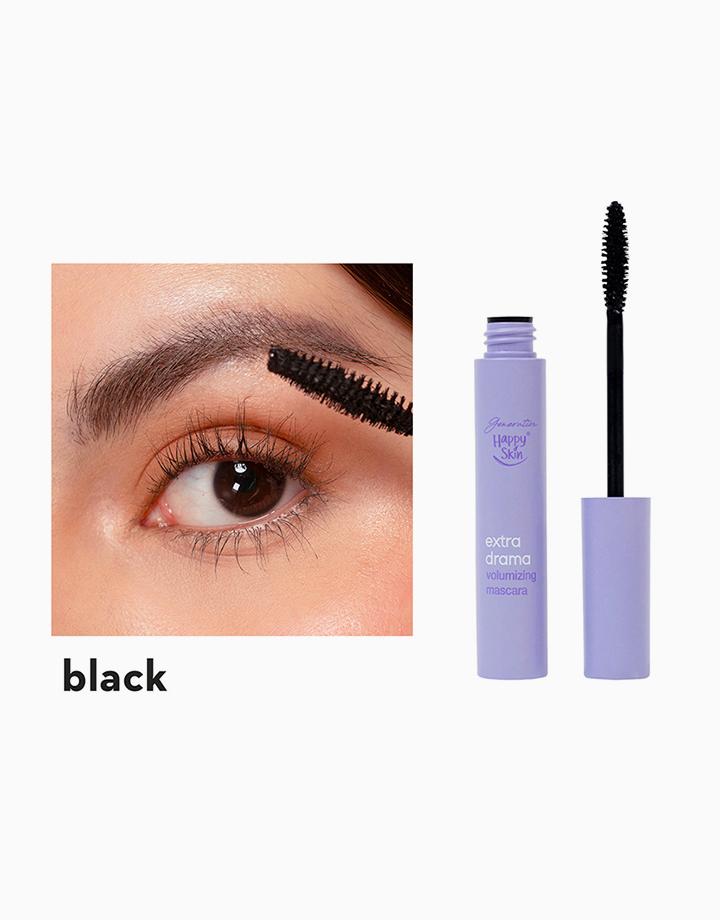 Extra Drama Volumizing Mascara in Black by Happy Skin