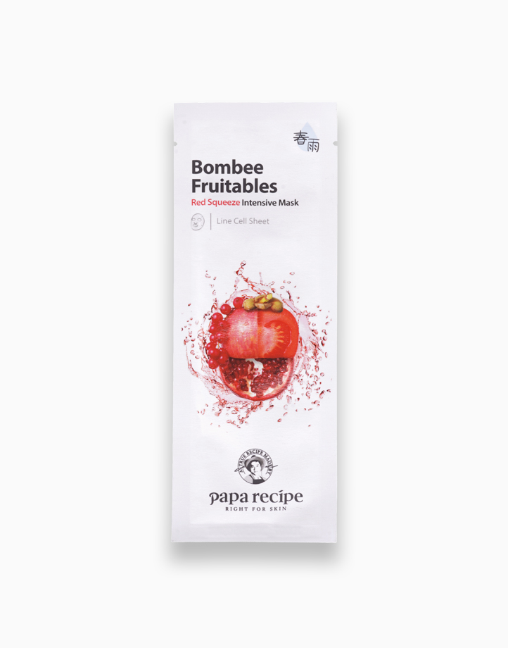 Bombee Fruitables Red Squeeze Intensive Mask (25g) by Papa Recipe