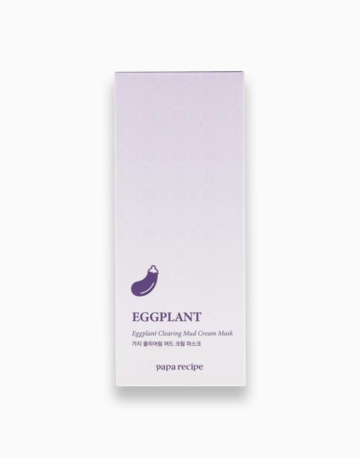 Eggplant Clearing Mud Cream Mask (100ml) by Papa Recipe