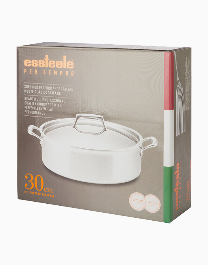 Per Sempre 30cm 7Qt Covered Saute Pan with Lid by Essteele