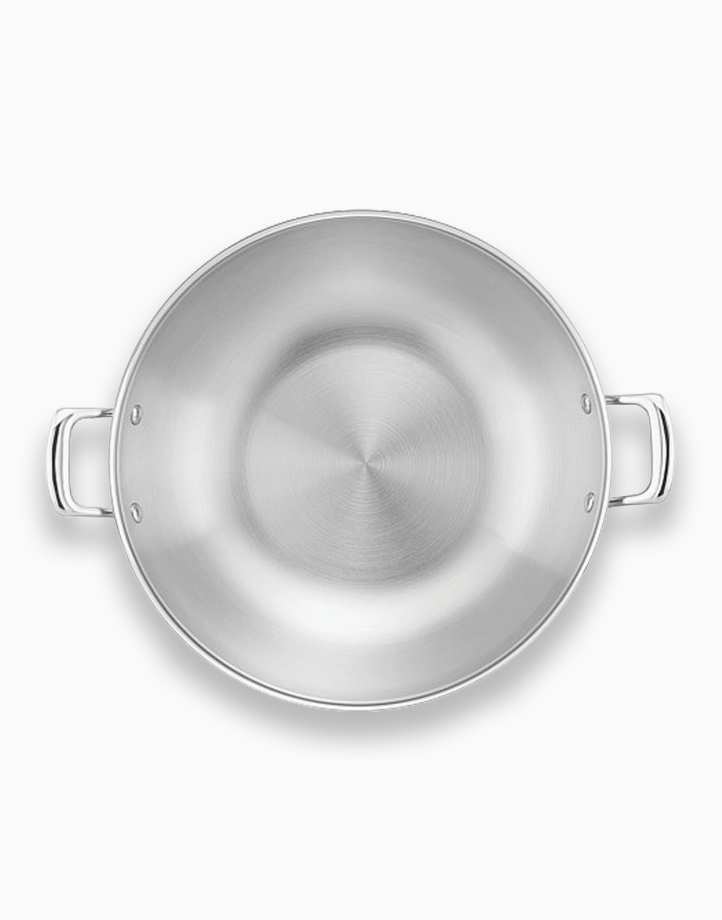 Per Sempre 34cm 7.6Qt Covered Wok with Lid by Essteele
