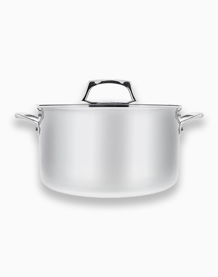 Per Sempre 26cm 8Qt Covered Stockpot with Lid by Essteele