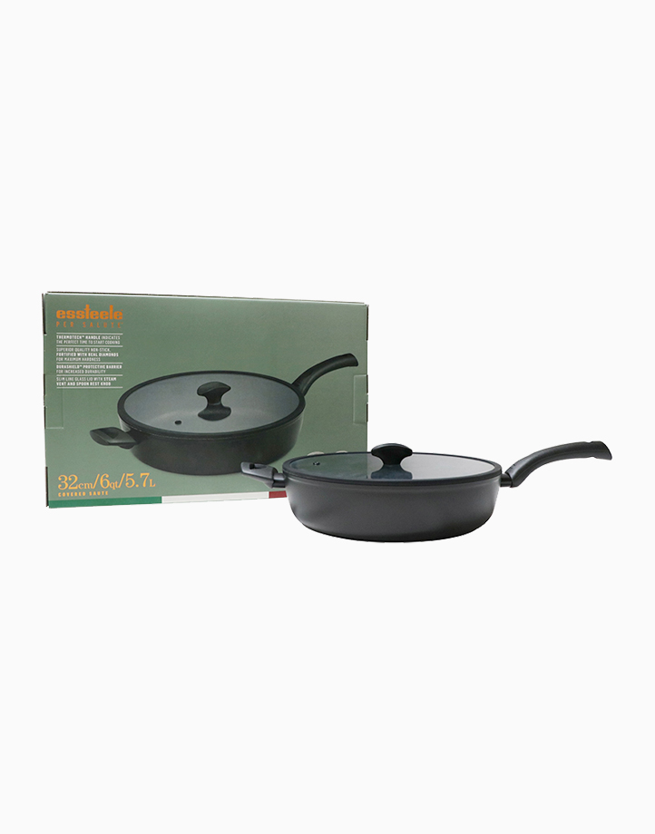 Per Salute 32cm Covered Saute Pan with Lid by Essteele