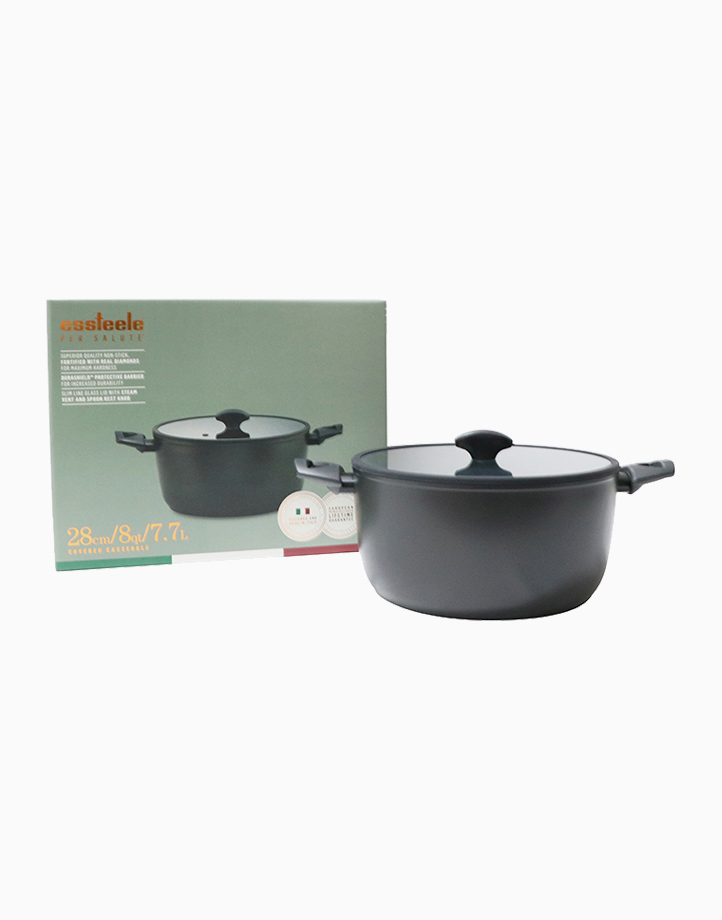 Per Salute 28cm Covered Casserole with Lid by Essteele