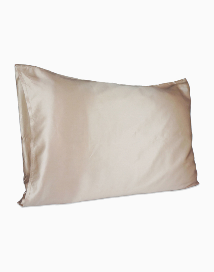 Silk Pillowcase by Lily & Adora | Nude 19 momme