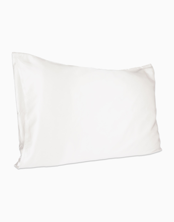 Silk Pillowcase by Lily & Adora | Ivory 19 momme