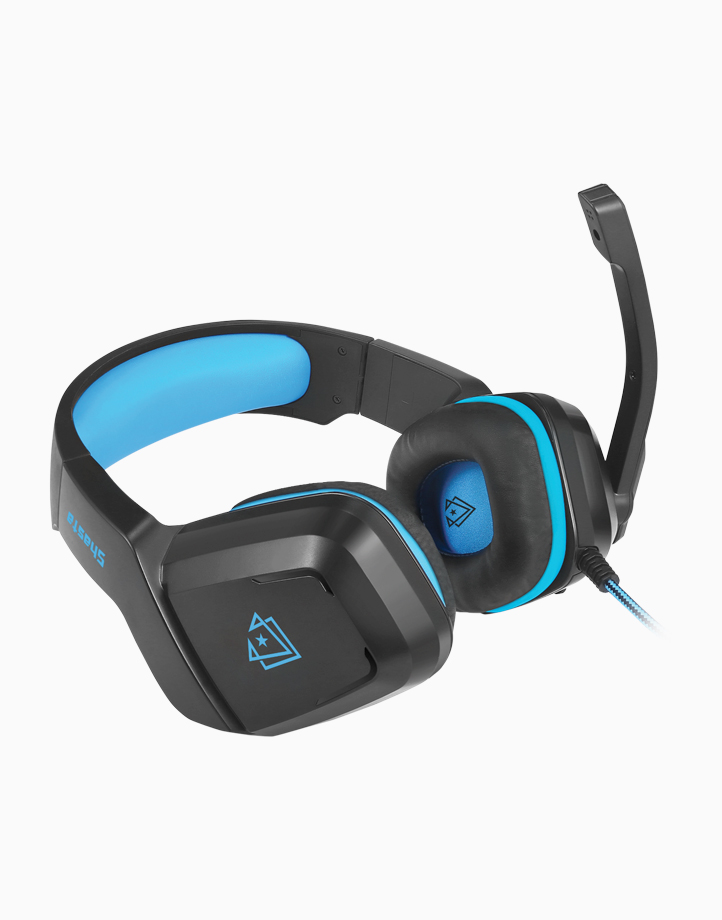 Shasta Ambient Noise Isolation Over-Ear Gaming Headset by Vertux   Blue