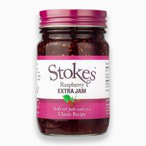 Stokes Raspberry Extra Jam (340g) by Raw Bites