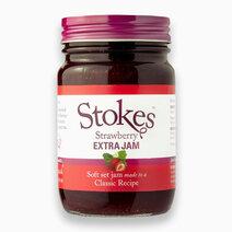 Stokes Strawberry Extra Jam (340g) by Raw Bites