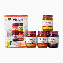Stokes Magnificent Marmalade Collection Gift Box (4 x 215g) by Raw Bites