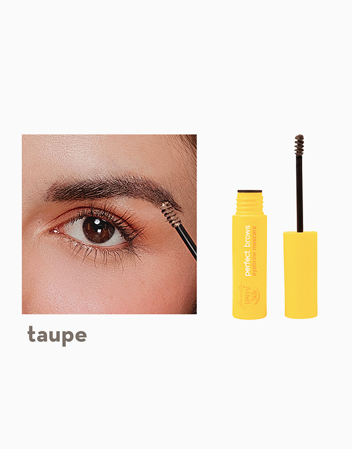 Generation Happy Skin Perfect Brows Eyebrow Mascara by Happy Skin   Taupe