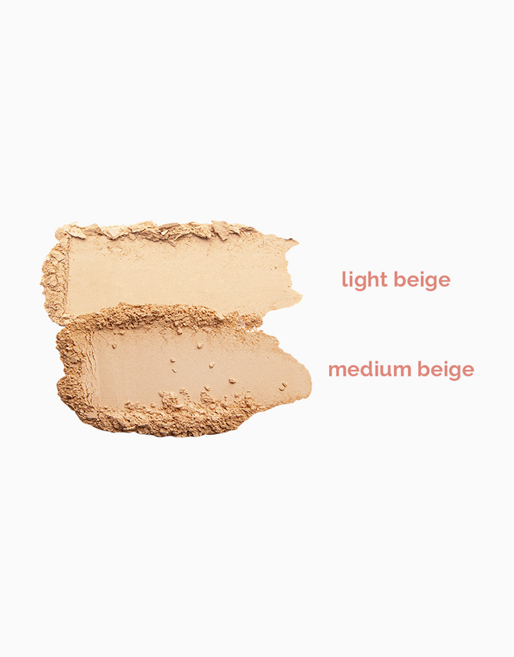 Stay Fresh Weightless Pressed Powder in Light Beige by Happy Skin