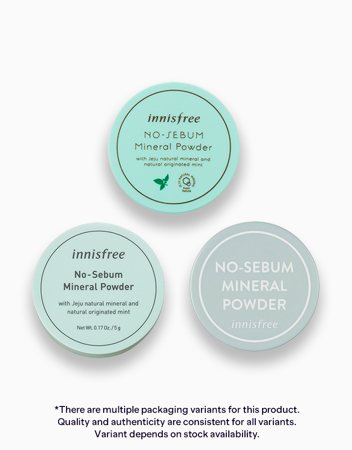No Sebum Mineral Powder by Innisfree