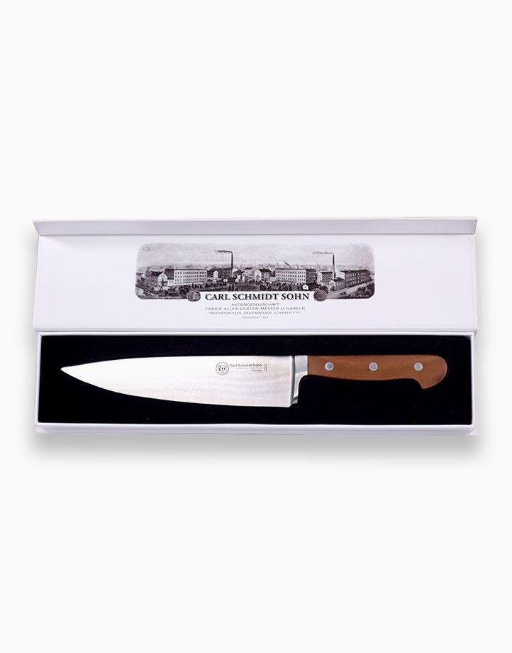 Tessin Chef Knife with Walnut Handle (20cm) by Carl Schmidt Sohn