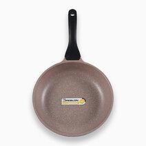K2 Die Cast Aluminum Fry Pan with Greblon 5 Layer Granitec in Brown Color (24x5cm) by Carl Schmidt Sohn