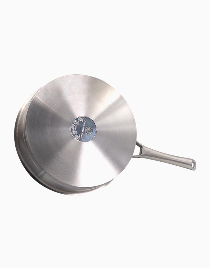 Kaiserstuhl Stew Pot Stainless Steel with Lid (26x6.5cm) by Carl Schmidt Sohn