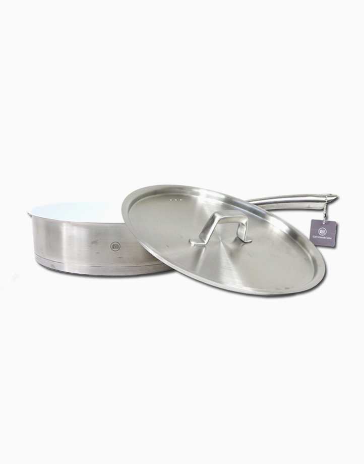 Stern Stainless Steel Saute Pan Tri-Ply Body with S/S Lid in Gift Box (22cm) by Carl Schmidt Sohn