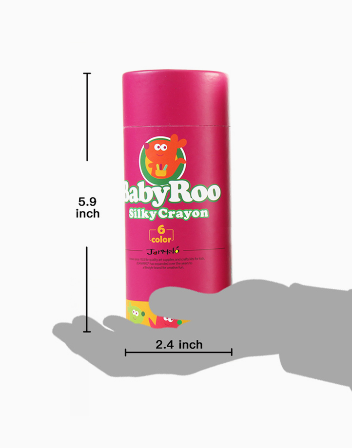 Baby Roo Silky Washable Crayons (6 Colors) by Joan Miro