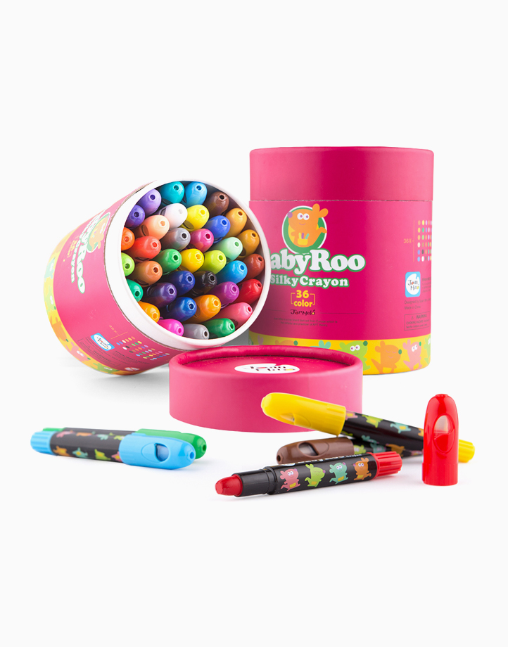 Baby Roo Silky Washable Crayons (36 Colors) by Joan Miro