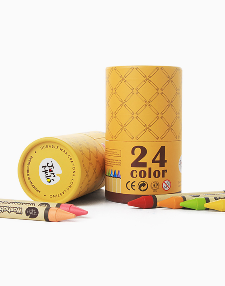 Washable Crayons (24 Colors) by Joan Miro