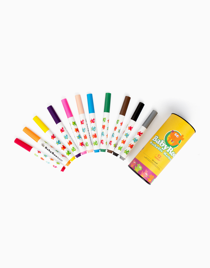 Baby Roo Washable Markers (12 Colors) by Joan Miro