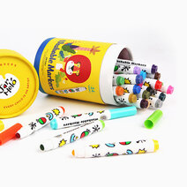 Special Round Tip Washable Markers (24 Colors) by Joan Miro
