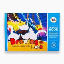 Drawing Book - Big (Blue) by Joan Miro