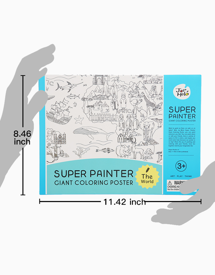 Super Painter Giant Coloring Poster Pads by Joan Miro | The World