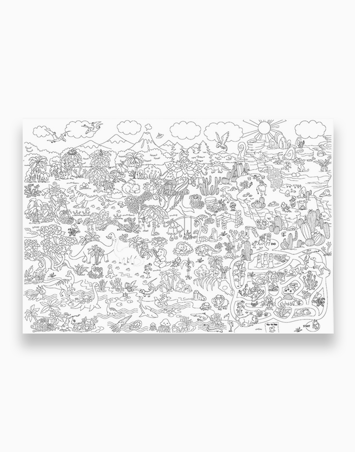 Super Painter Giant Coloring Poster Pads by Joan Miro | Prehistoric Era