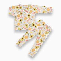 Bindy Avocado Toast Kimono PJ Set by Bear the Label