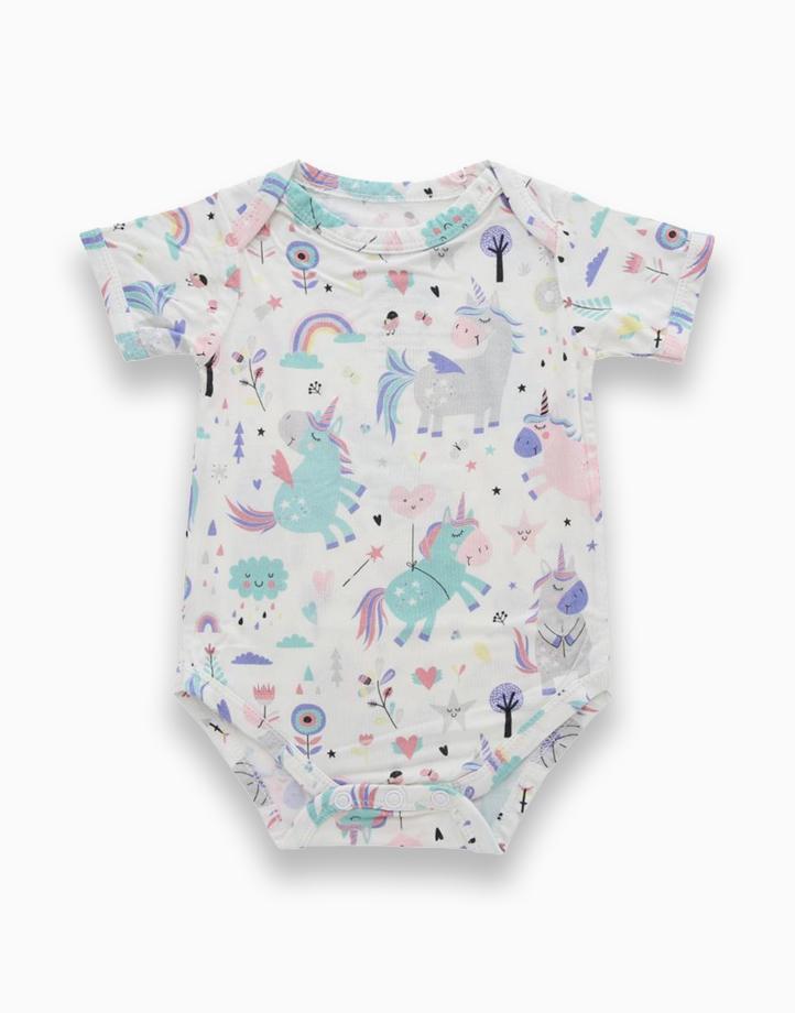 Callie Unicorn Envelope Onesie by Bear the Label | 6-12 Months