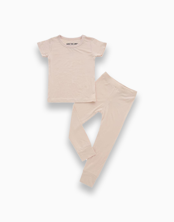 Olivia Sand Short Sleeves + Pants Set by Bear the Label | 2-3 T