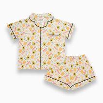 Kelly Avocado Adult Short Sleeves + Shorts Set by Bear the Label