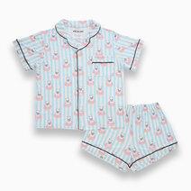 Kelly French Bulldog Donut Adult Short Sleeves + Shorts Set by Bear the Label