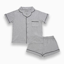 Kelly Grey Adult Short Sleeves + Shorts Set by Bear the Label