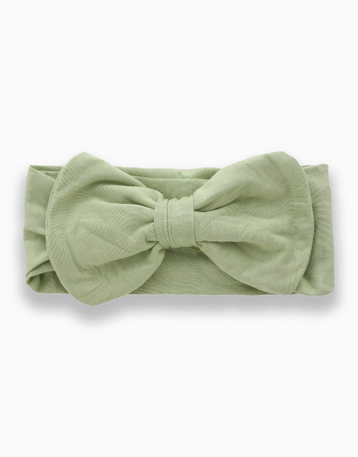 Kira Bow by Bear the Label | Moss Green
