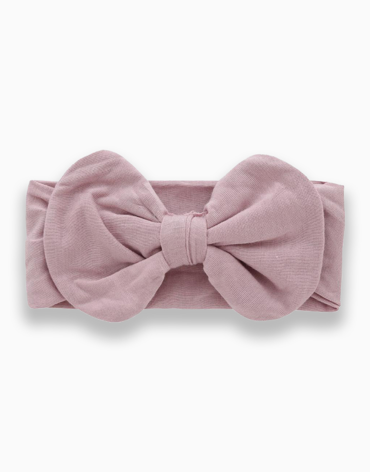 Kira Bow by Bear the Label | Mauve Pink
