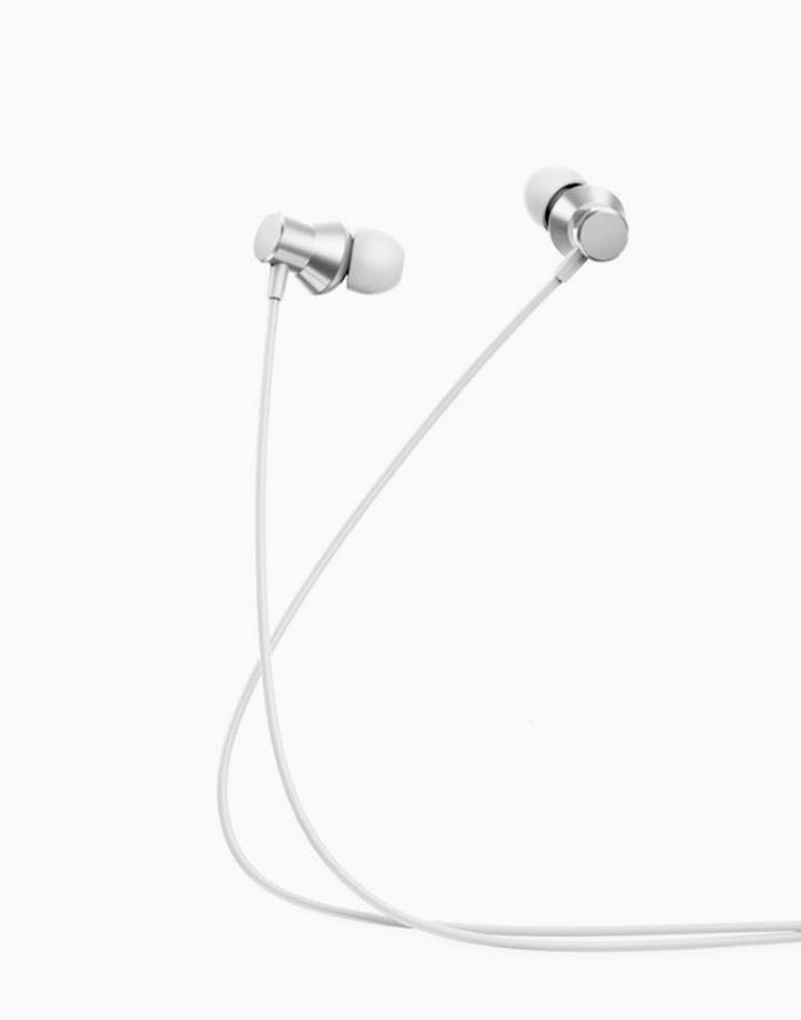 HF130 Metal Headset  by Lenovo   White