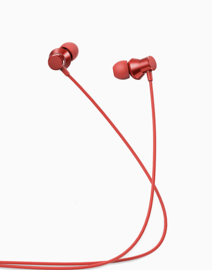 HF130 Metal Headset  by Lenovo   Red