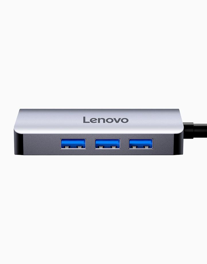 LX0806G USB-C Hub (Dark Gray) by Lenovo