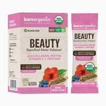 On-the-Go Organic Vegan BEAUTY Superfood Water Enhancer (12 Sticks) by BareOrganics