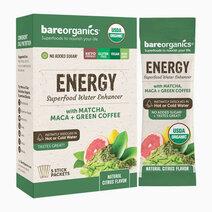 On-the-Go Organic Vegan ENERGY Superfood Water Enhancer (5 Sticks) by BareOrganics