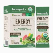 On-the-Go Organic Vegan ENERGY Superfood Water Enhancer (12 Sticks) by BareOrganics