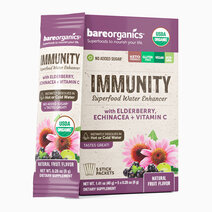 On-the-Go Organic Vegan IMMUNITY Superfood Water Enhancer (5 Sticks) by BareOrganics