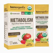 On-the-Go Organic Vegan METABOLISM Superfood Water Enhancer (5 Sticks) by BareOrganics