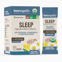 On-the-Go Organic Vegan SLEEP Superfood Water Enhancer (12 Sticks) by BareOrganics