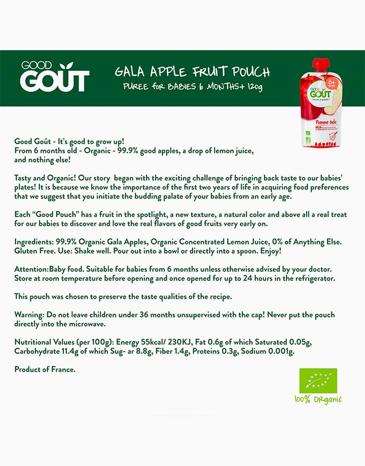 Gala Apple (120g, 6 mos) by Good Goût