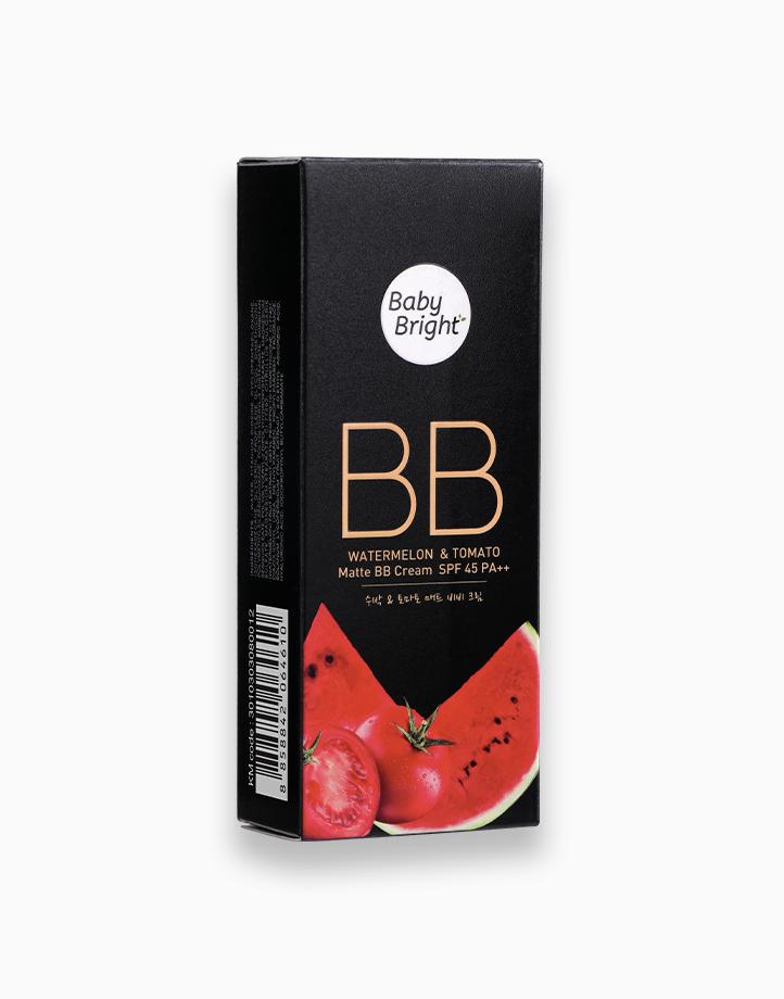 Watermelon & Tomato Matte BB Cream SPF45 PA++ by Baby Bright | #21 Light Beige