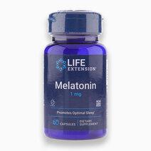 Melatonin (1mg, 60 Caps) by Life Extension
